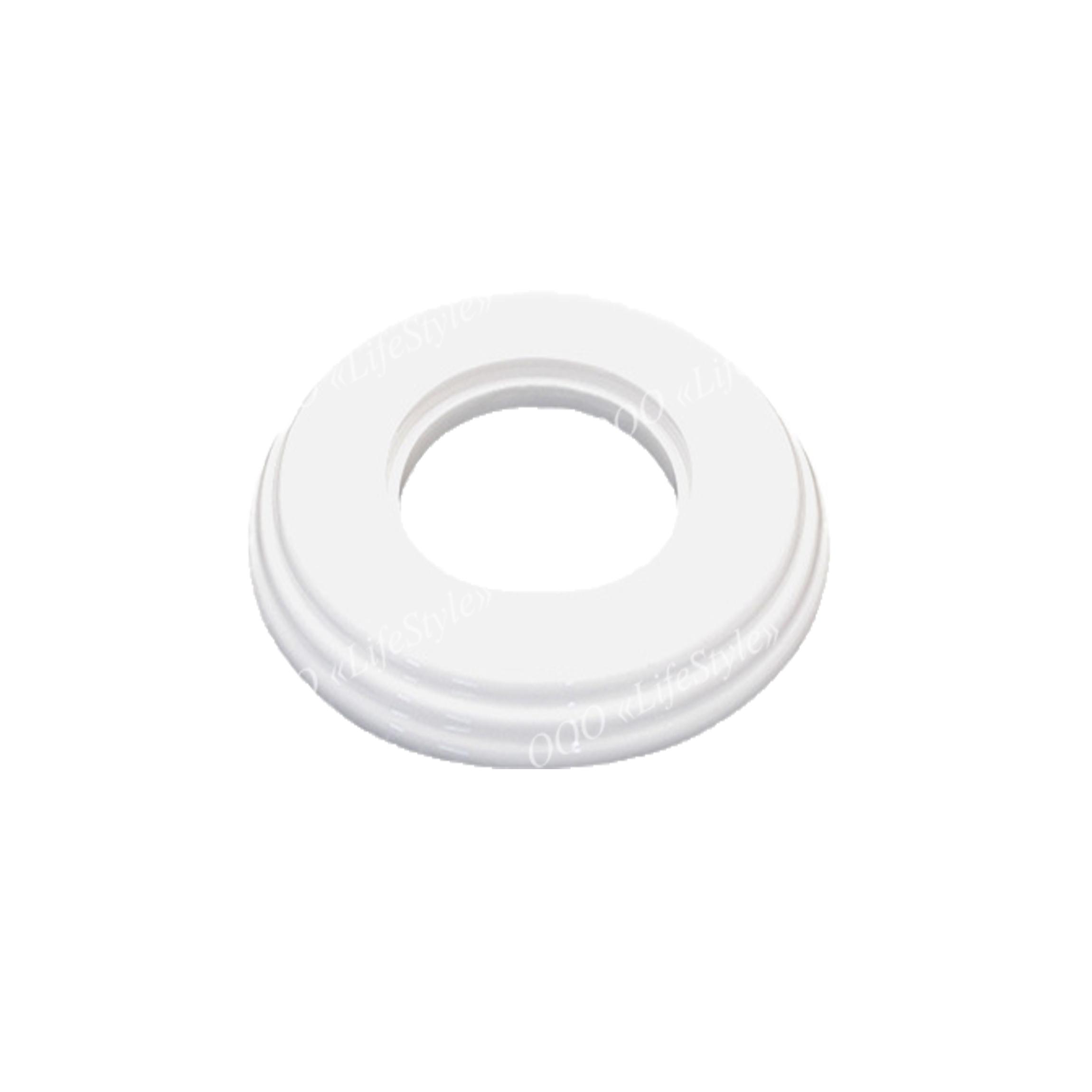 Рамка 1 постовая Bironi пластик белая
